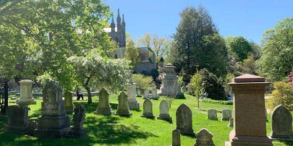 Mt Auburn Cemetery, Bigelow Chapel