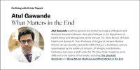 Atul Gawande Interview